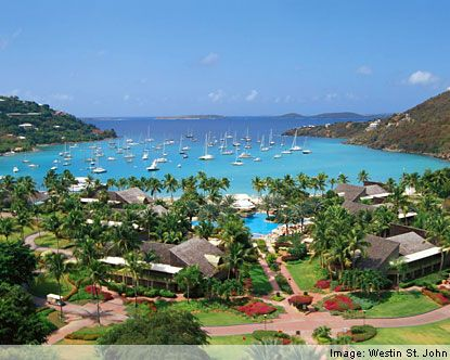 Caneel Bay St. John's Island - US Virgin Islands...I got married there and would go back in a heart beat!