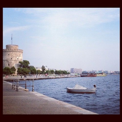 Beautiful picture of Thessaloniki. The Thread.Thessaloniki Greece, White Towers, Beautiful Pictures