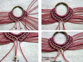 free macrame tutorial and pattern