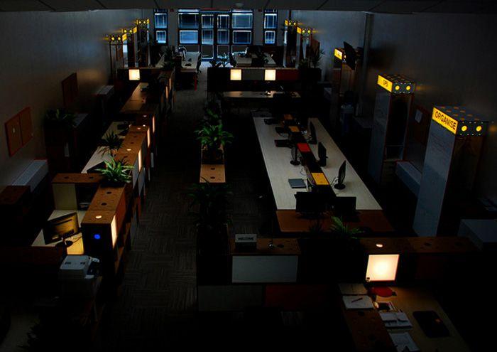 Meydan Architecture Design | Piworks Office, Our Custom desingned modular furnitures can serve as lightning armatures