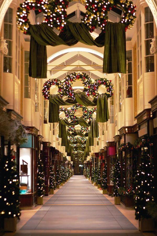 Burlington Arcade during Christmas, London