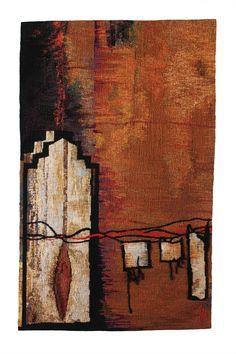 Cordes sensibles, Suzanne Paquette, tapestry