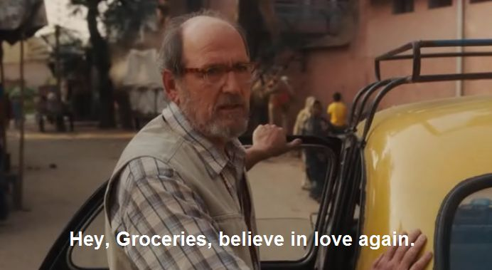 """Hey, Groceries. Believe in love again."" ~ Richard from Texas (Eat Pray Love)"