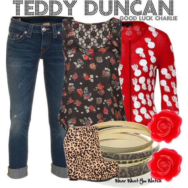 Inspired by Bridgit Mendler as Teddy Duncan on Good Luck Charlie.