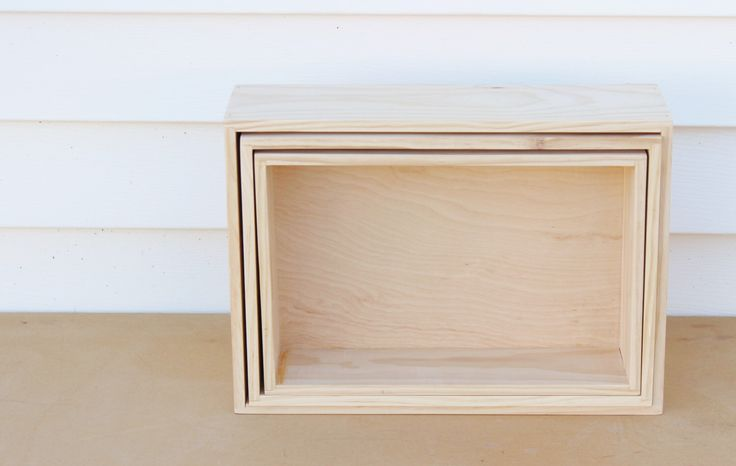 Nesting Wood Boxes, Birch box, Natural wooden nesting container cabinet grade birch plywood, choice of set of 3, 2 or 1 boxes home decor by KaterinaCollection on Etsy https://www.etsy.com/listing/211166307/nesting-wood-boxes-birch-box-natural