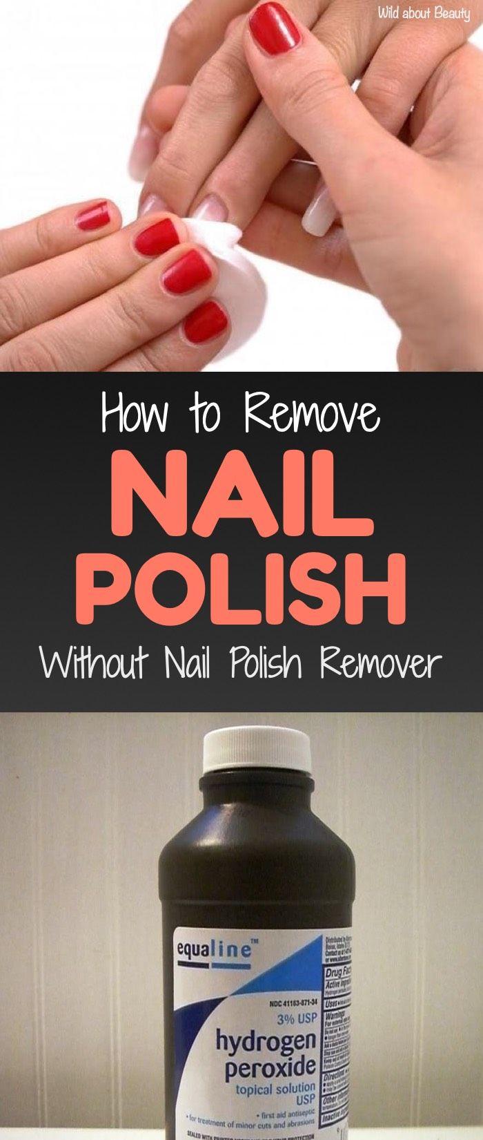 How To Remove Nail Polish Without Nail Polish Remover 8 Natural Solutions Acrylic Nail Polish Diy Nail Polish Remover Nail Polish Remover