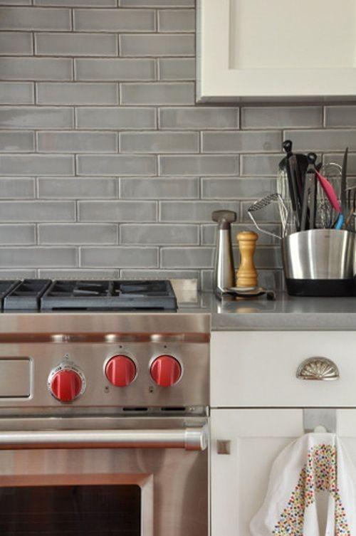 7 Astonishing Cool Ideas: Grey Backsplash Apartment ...