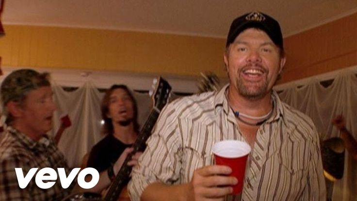 Oh man, this was such a big hit Toby Keith - Red Solo Cup (Unedited Version)