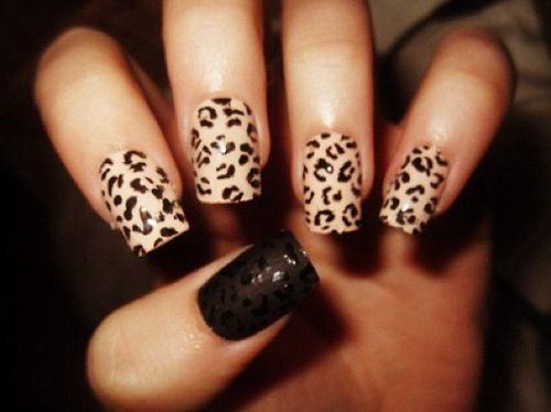 38 ANIMAL PRINT NAIL ART DESIGNS - 25+ Trending Cheetah Nail Designs Ideas On Pinterest Feather