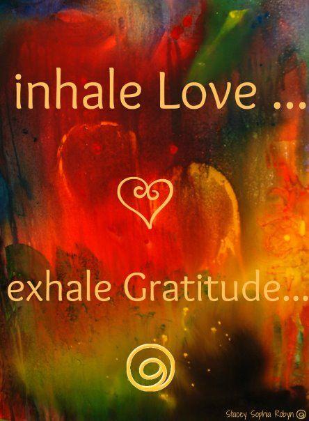 """Inhale love...Exhale gratitude."" That's power of breathing.... #hawaiirehab www.hawaiiislandrecovery.com"