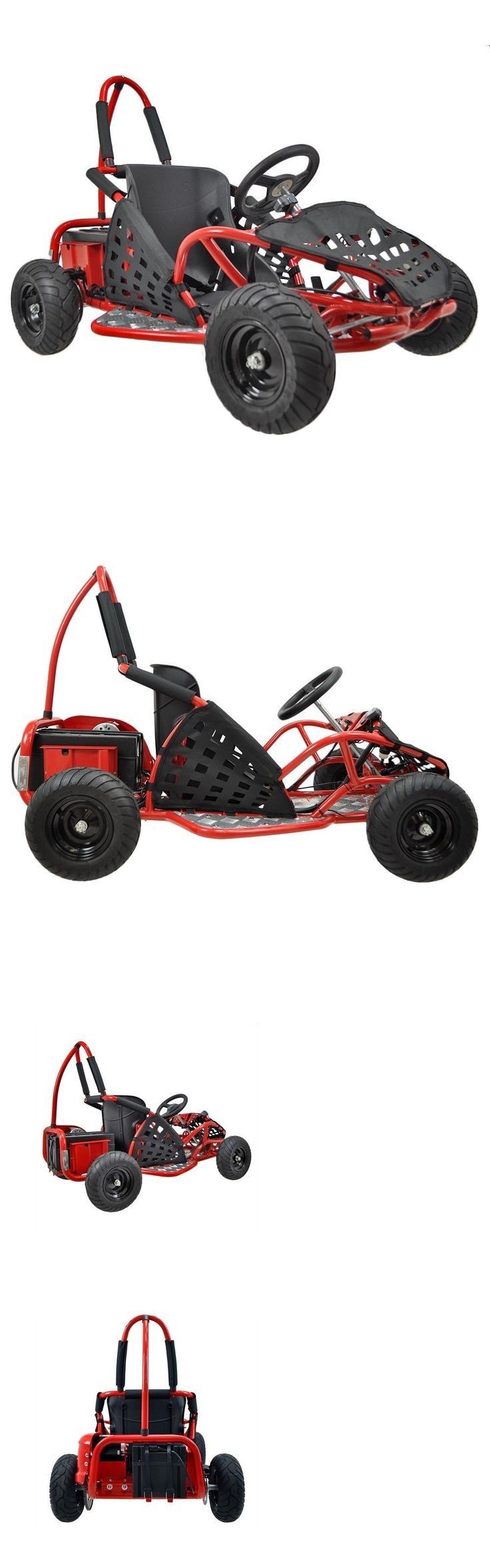 Other Go-Karts Recreational 40152: Go-Bowen 1000 Watt 48 Volt (Epa Approved) Off Road Kids Go Kart W/ Reverse BUY IT NOW ONLY: $679.95