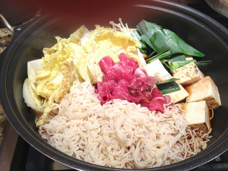 Nabe Labo in N.Y.  sukiyaki #nabe
