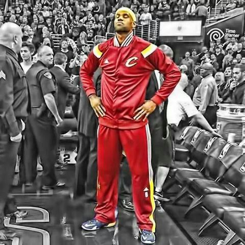 LeBron James ... Cleveland Cavaliers