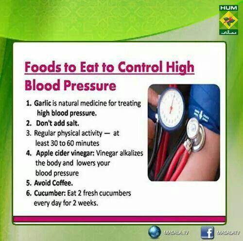 High blood pressure alternative medicine