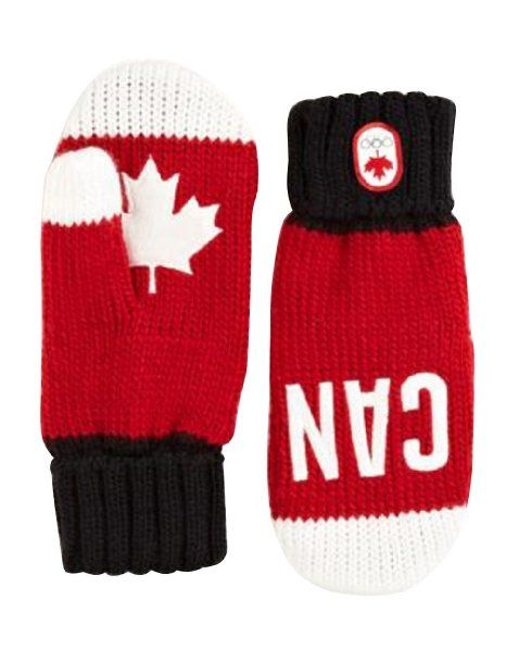 Canada Olympic Collection 2014 Snow Top Red Mittens got em!