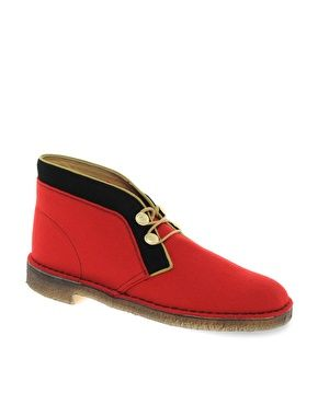 It's like a British Red Coat, but it's a shoe.