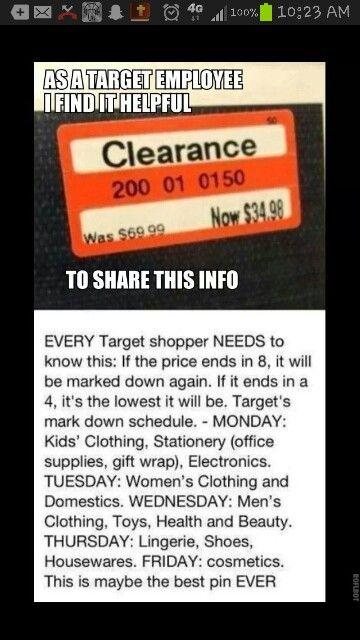 Useful! Target tip!