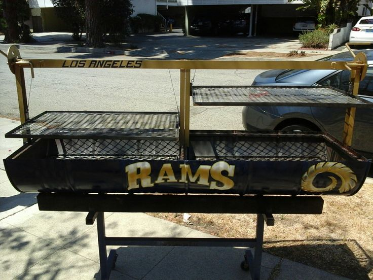 Los Angeles Rams Santa Maria BBQ Grill for sale 800 Dollars