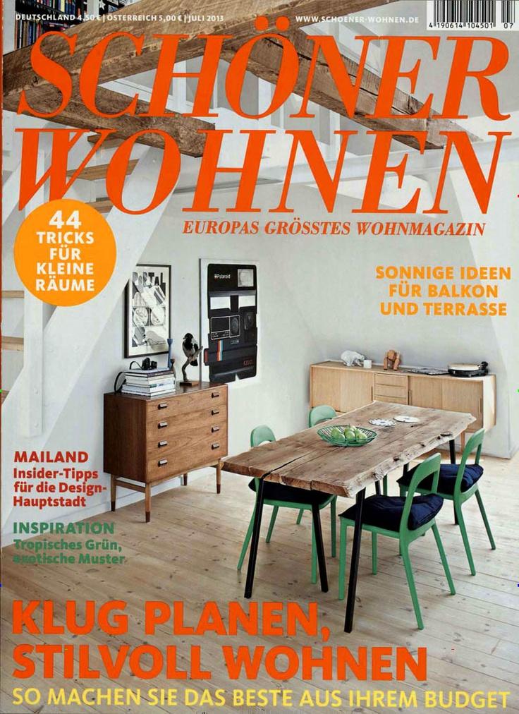 Wohnen Zeitschrift österreich 20 besten cover schöner wohnen bilder auf kombination