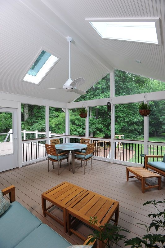 How Much Does It Cost To Replace The Screens On A Screened Porch? Design  Builders