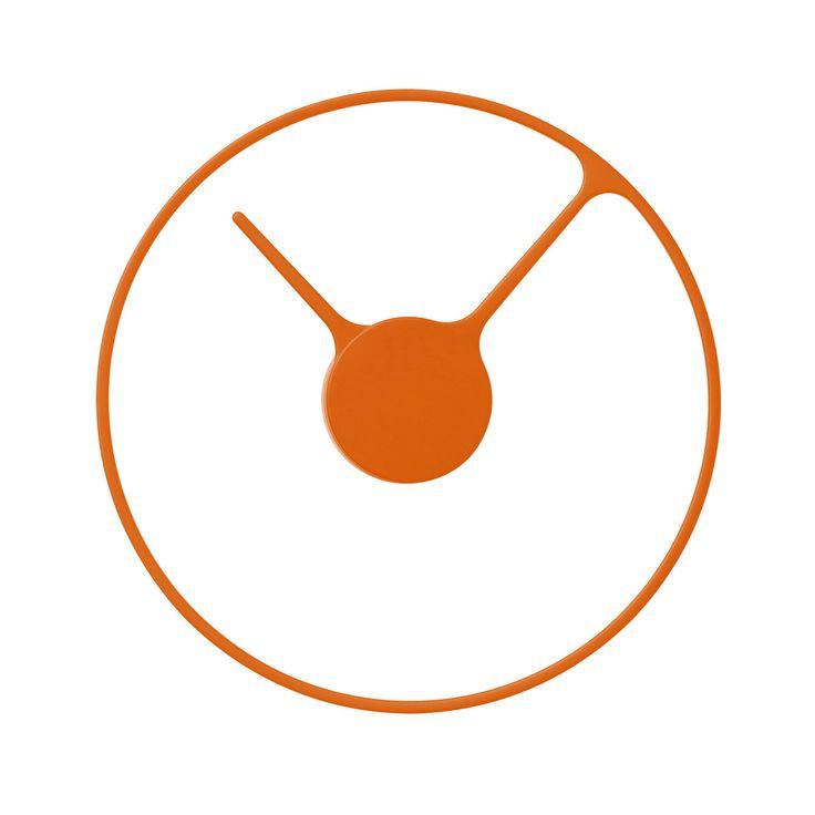 Die besten 25+ Orange wanduhren Ideen auf Pinterest 50er deko - k che ohne ger te