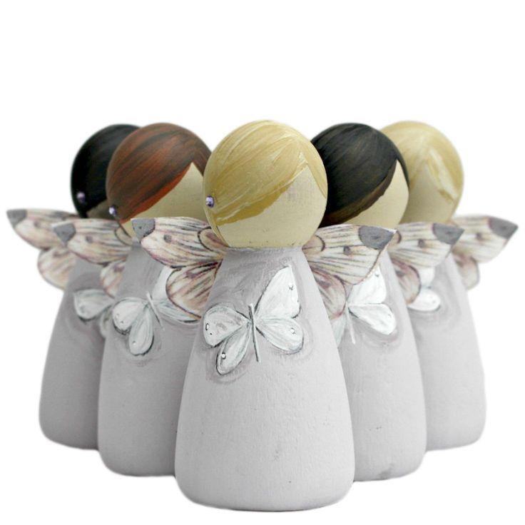 fairy peg dolls | ... Bereavement Fairies / White Butterfly Bereavement Gifts Fairy Peg Doll