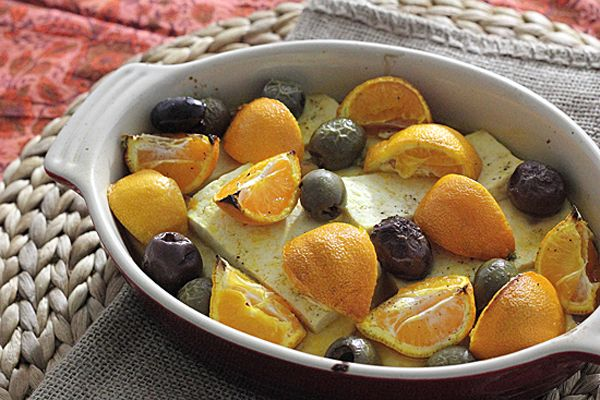 Roasted Tofu with Tangerines & Olives | Recipe