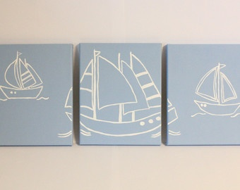 nautical nursery painting...another project?