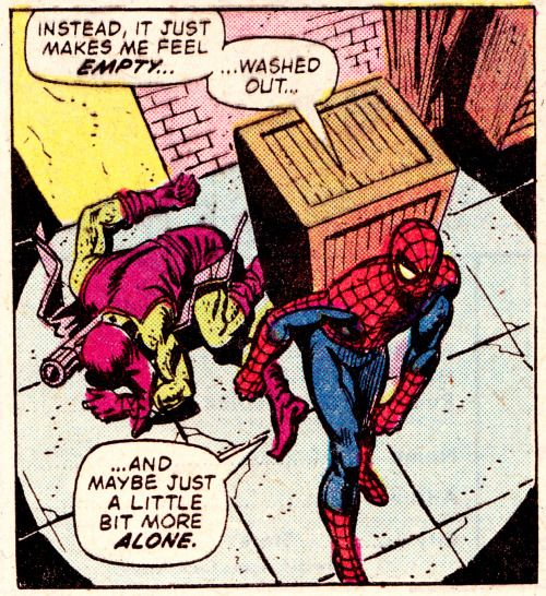 THE COMIC BOOK VAULT: Spiderman & goblin