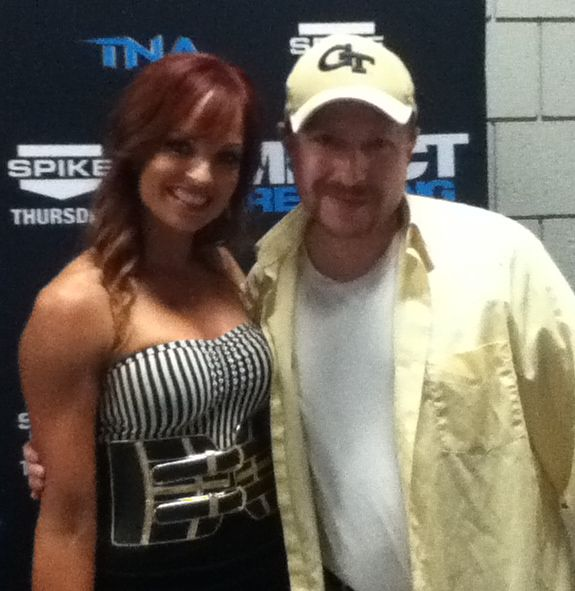 Christy Hemme and Me