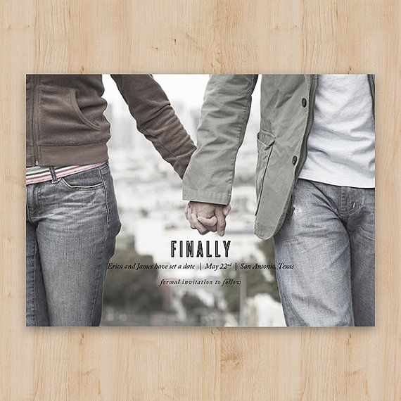 Save the Date  Finally  Fun and Funny Wedding by OakStreetPress, $99.00