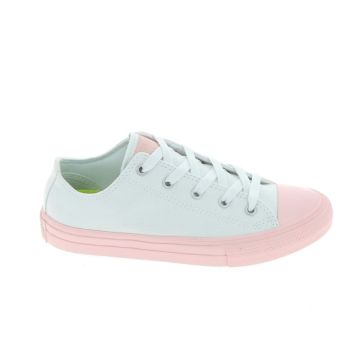 Toile CONVERSE Chuck All Star II B Blanc Rose lsufzFPI