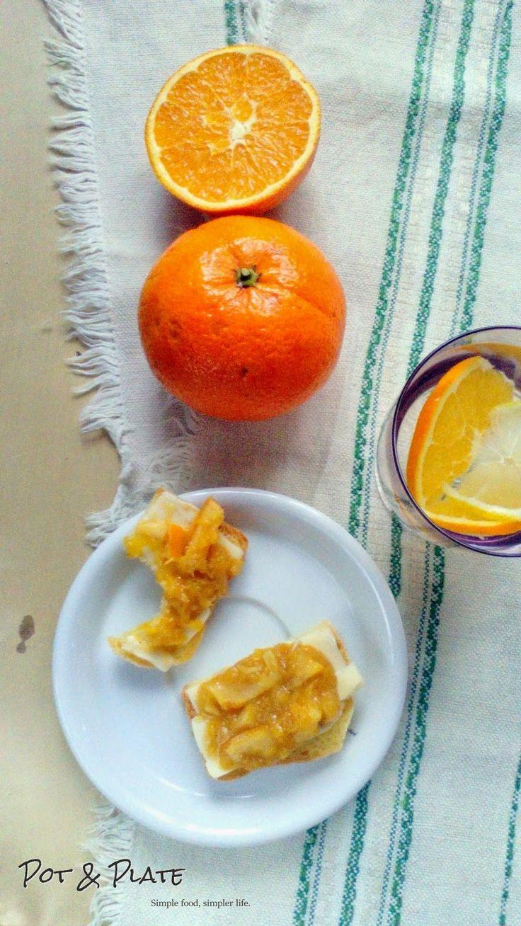 Pot & Plate: Domowa marmolada pomarańczowa