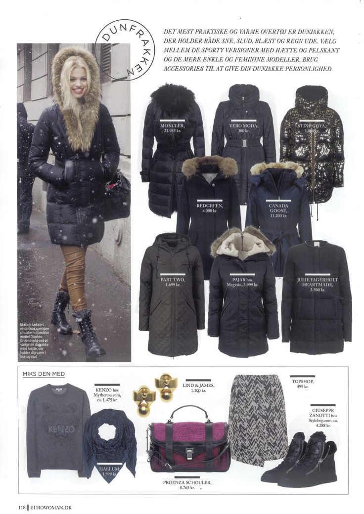 Julie Fagerholt / Heartmade Jacket from AW 13 in the Danish Magazine Eurowoman