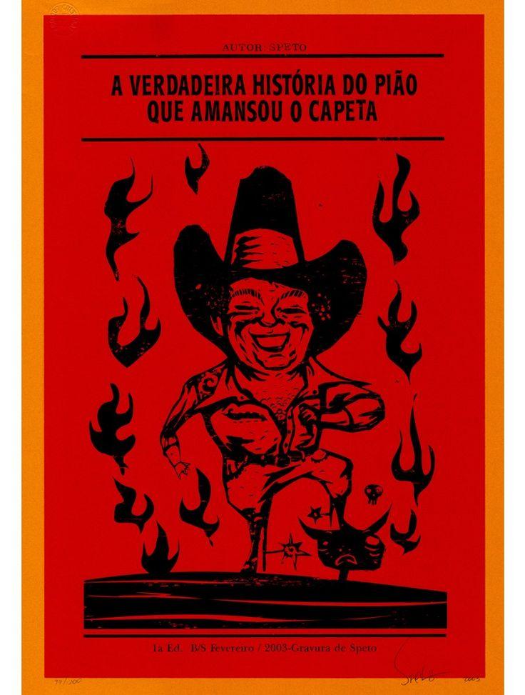Cowboy - Serigrafia