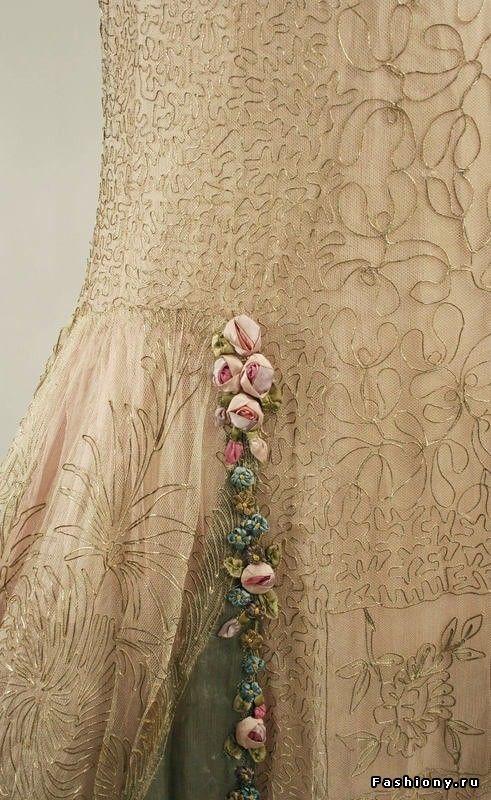 Вечерние платья 20-х годов XX века (востановленная) / м ой париж мода сезона платья новинки