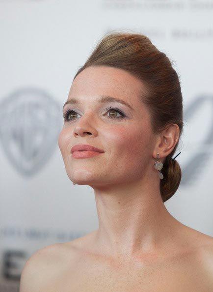 Chignon Hairstyles Inspired from Celebrities  Karoline Herfurth's Chignon Hairstyle