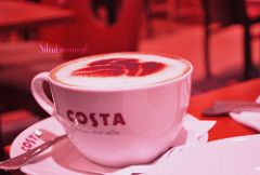 .. (il-) Tags: morning costa sun coffee cafe dubai silent moment coffeebeans    costacoffee      silentmoment