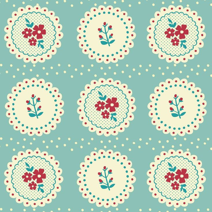 vintage doily wrapping paper