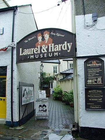 laurel and hardy museum, ulverston