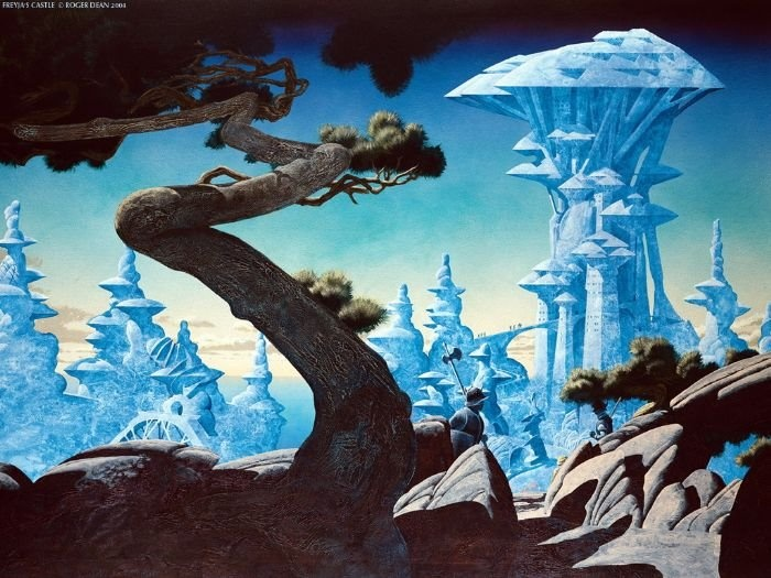 roger dean - one of my favorite artists since 1975  :)
