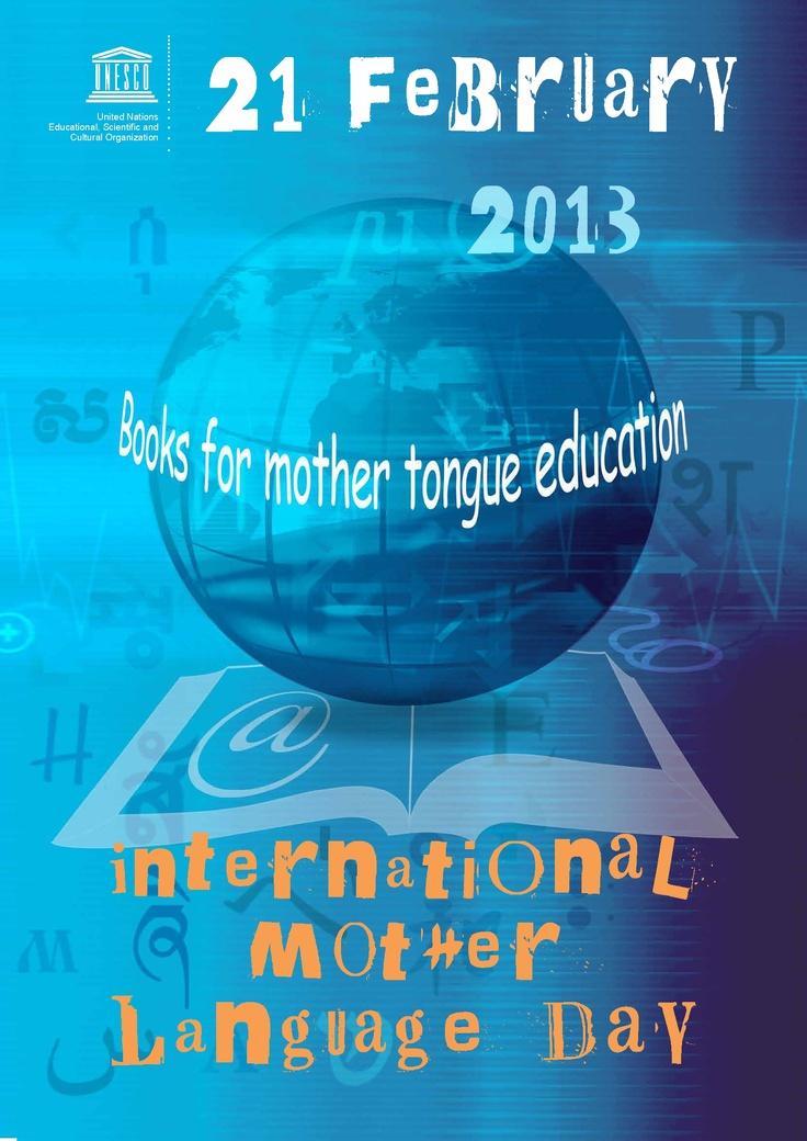 International Mother Language Day 21 February 2013