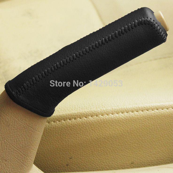 Ручной тормоз захваты чехол для KIA Cerato ручной тормоз обложка из натуральной кожи поставки авто внутренняя отделка DIY стайлинга автомобилей