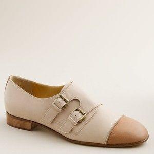 Women's new arrivals - shoes - Lottie monk strap shoes - J.Crew