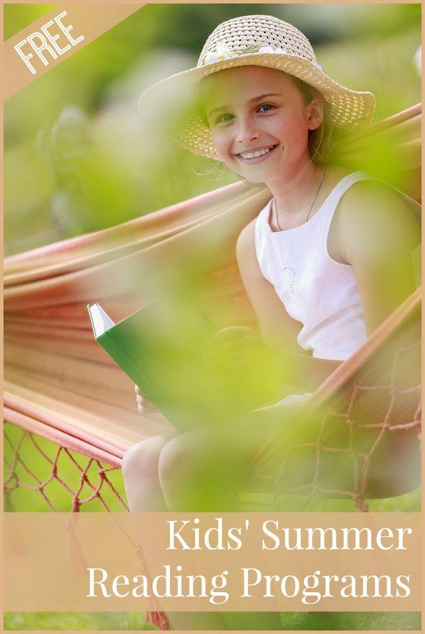 FREE Kids Summer Reading Programs for 2014 - great motivation for kids!