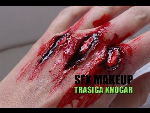 Specialeffekter - Brokend hand - YouTube