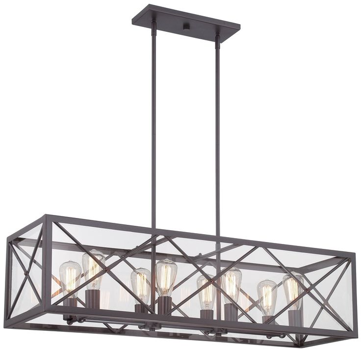 South Shore Decorating: Designers Fountain 87338-SB High Line Transitional Linear Chandelier DF-87338-SB