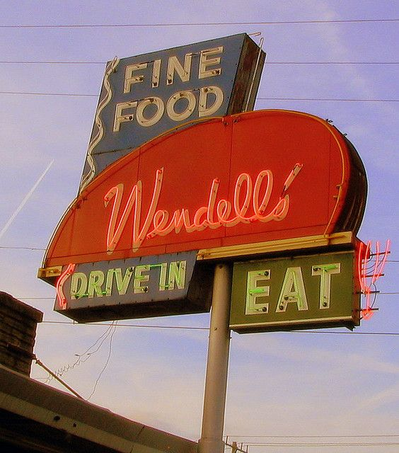 Wendell Smith's Restaurant sign | Flickr - Photo Sharing!
