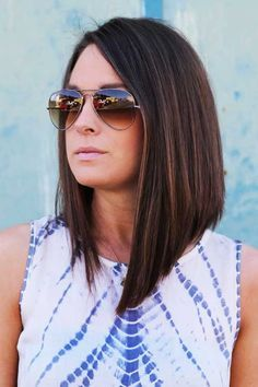 Astonishing 17 Best Ideas About Long Angled Bobs On Pinterest Long Long Bob Hairstyle Inspiration Daily Dogsangcom