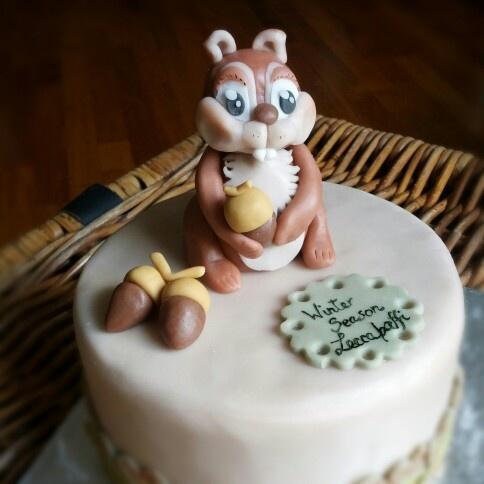 Cake Design Ecureuil